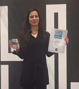 דפנה בפרס לונדון FoodBev