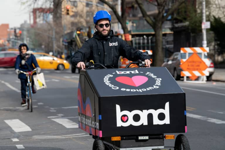 Bondmobiles ensure same-day, low-emission delivery in NYC