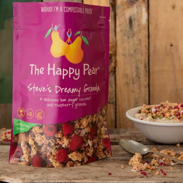 The Happy Pear Granola Stand Up Pouch
