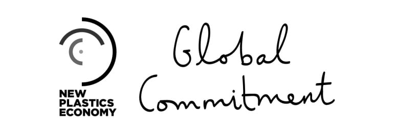 New Plastics Economy_Global Commitment Black