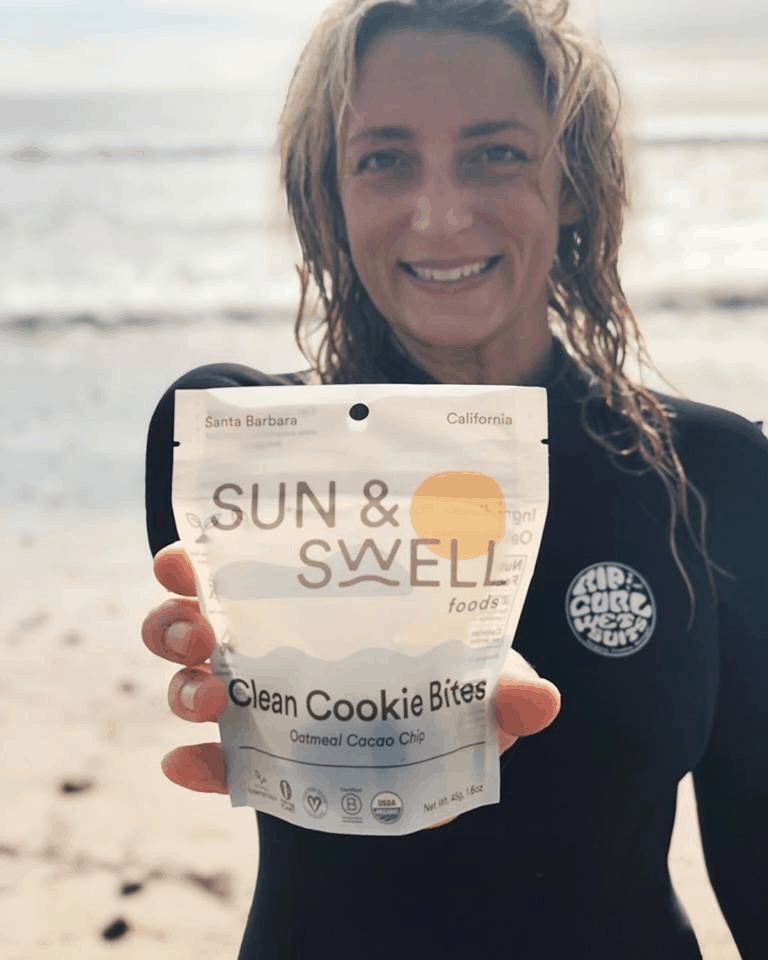 Sun and Swell compostable packaging